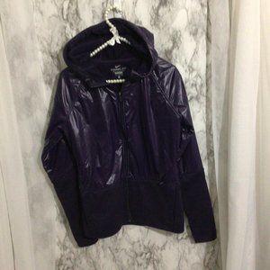 Nike Purple Wet Look Jacket